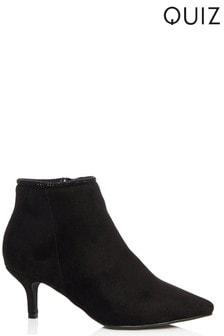 Quiz Kitten Heel Boots