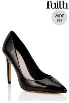 Faith Wide Fit Court Heels