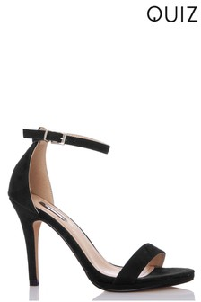 Quiz Two Part High Heeled Sandal