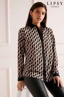 Lipsy Geometric Shirt