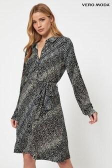 Vero Moda Ditsy Print Shirt Dress