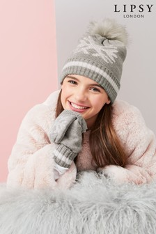Lipsy Girl Snowflake Gloves