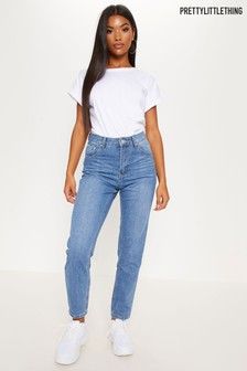 PrettyLittleThing Jeans mit geradem Bein