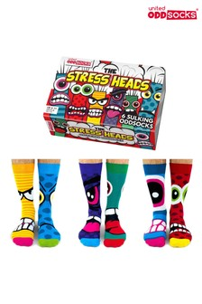 גרבי Stress Heads של United Oddsocks
