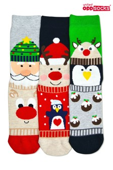 Sock Academy Carol Christmas Socks