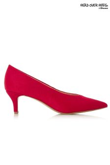 Head Over Heels High Vamp Court Shoe