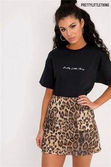 PrettyLittleThing Embroidered T-Shirt