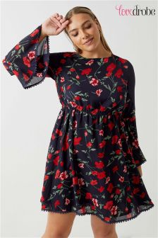 Lovedrobe Bell Sleeve Printed Dress