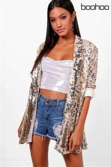 Boohoo Sequin Jacket