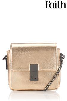 Faith Twist Lock Box Bag