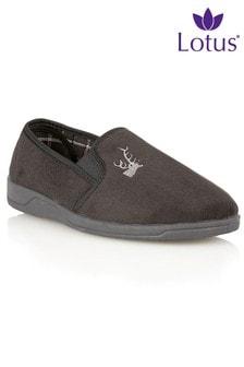 Lotus Logo Detail Shoes