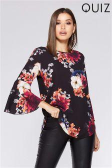 Quiz Floral Tunic Top