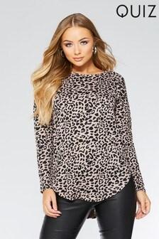 Quiz Leopard Print Top