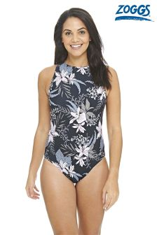 Zoggs Soft Nature High Front Control Swimsuit