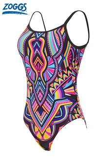Zoggs Dreamcatcher Deep Scoopback Control Swimsuit