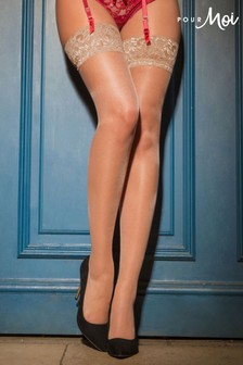 Pour Moi Allure Lace Top 15 Denier Stocking