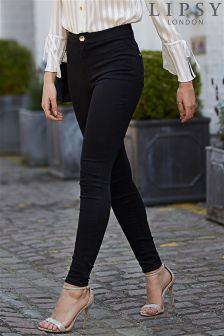 Lipsy High Waisted Skinny Jeans