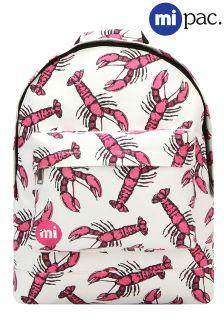 Mi-Pac Lobster Print Backpack