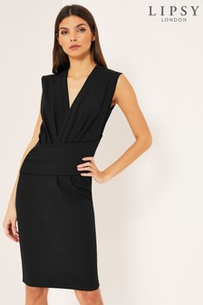 Lipsy V neck Bodycon Dress