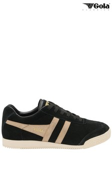 Gola Ladies' Harrier Mirror Suede Lace-Up Trainers