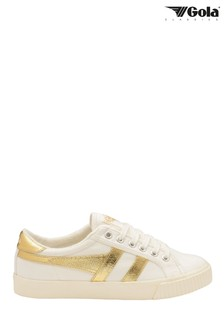 Gola Tennis Mark Cox High Canvas Lace-Up Trainers