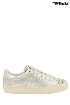 Gola Ladies' Orchid Cheetah Lace-Up Trainers