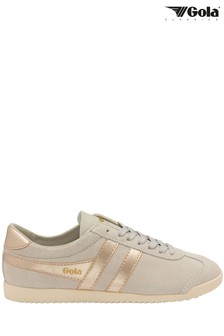 Gola Ladies' Bullet Pearl Suede Lace-Up Trainers