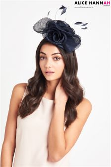 Alice Hannah Pillbox Fascinator