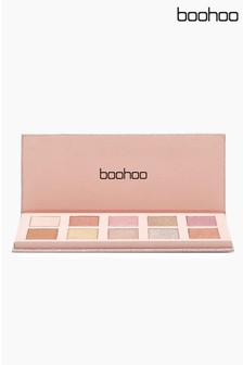 Boohoo Beauty Eye Shadow Palette 10 Glitter Shades