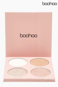 Boohoo Beauty Baked Highlighter 4 Shades