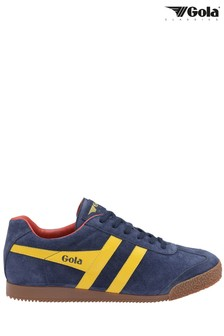 Gola Men's Harrier Suede Lace-Up Trainers