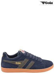 Gola Men's Equipe Suede Lace-Up Trainers