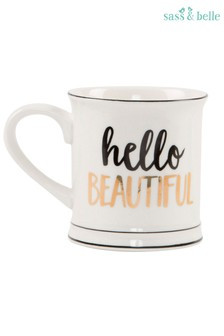 Sass & Belle Hello Beautiful Mug