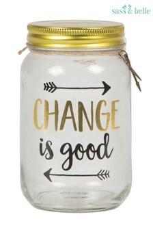 Sass & Belle Change Is Good Jar Money Box