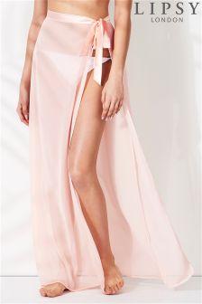 Lipsy Side Tie Kaftan Skirt
