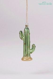 Sass & Belle Glitzy Cactus Bauble