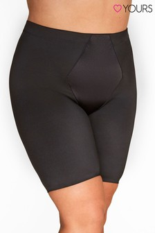 Yours Curve Satin Control Short