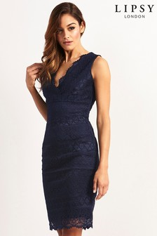 V-Neck Party Dresses