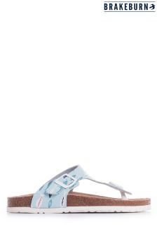 Brakeburn Blue Fish Sandals