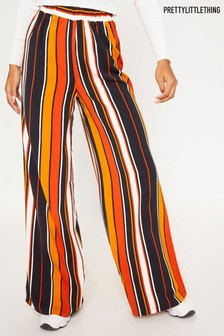 PrettyLittleThing Multi Stripe Trousers