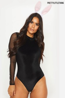 PrettyLittleThing Bunny Tail Halloween Body