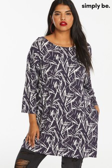Simply Be Side Pocket Tunic