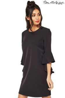 Miss Selfridge Flute Sleeve Shift Dress