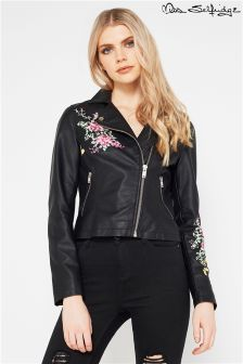 Miss Selfridge Embroidered Jacket