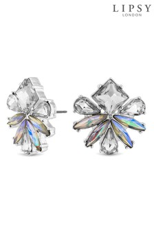 Lipsy Crystal Cluster Floral Stud Earring