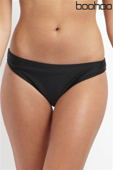 Boohoo Beach Mix & Match Fixed Side Bikini Brief