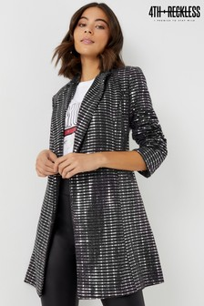 Zdobiona sukienka 4th And Reckless Blazer