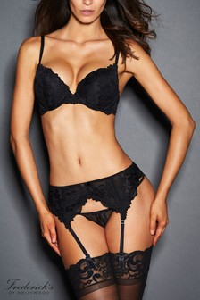 Frederick's Of Hollywood Jessica Lace Boost Plunge Bra