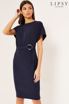 Lipsy D Ring Bodycon Dress
