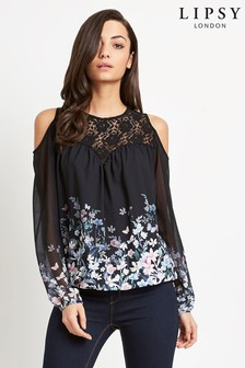 91204930ce22c9 Buy Women s tops Tops Coldshoulder Coldshoulder from the Next UK ...
